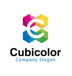 Cubicolor Design vector