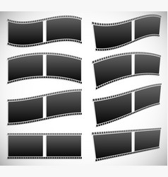 Film strip graphics for photography concepts vector