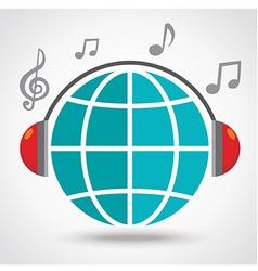 WorldMusic vector image