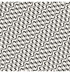ZigZag Diagonal Wavy Stripes Seamless vector