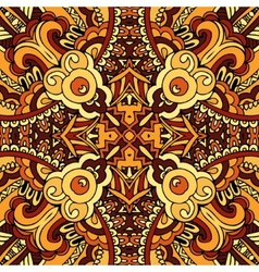 abstract ethnic indian autumn seamless pattern vector image vector image