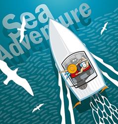 Boat Trip vector image