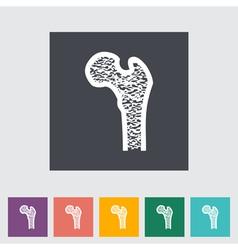 Bone vector image vector image