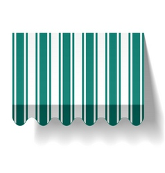 drop awning vector image vector image