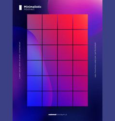 abstract background with purple and red gradients vector image