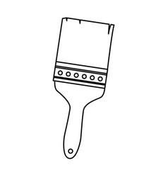 Brush painter tool icon vector