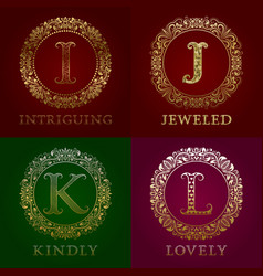 golden templates for intriguing jeweled kindly vector image
