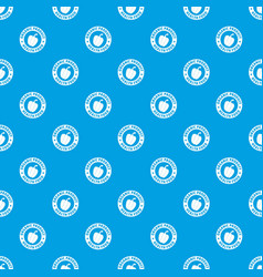 organic product pattern seamless blue vector image