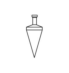 Plumb icon vector