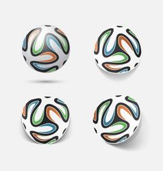 Soccer football ball vector image