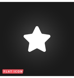 star icon - isolated vector image