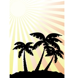 palm vector image