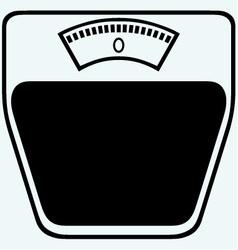 Icon scales vector image