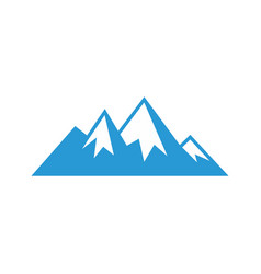mountain sign logo image image vector image