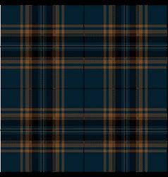 blue and brown tartan plaid scottish pattern vector image