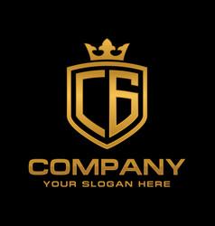 cg logo vector image