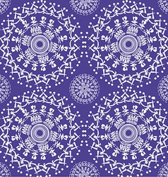 color Oriental pattern vector image