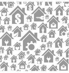 house a background6 vector image