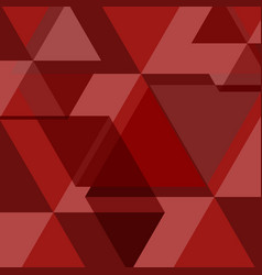 red abstract square background vector image