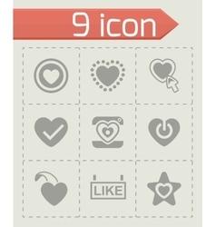 Like icon set vector image