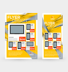 Abstract business brochures cover or banner vector
