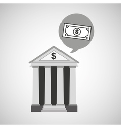 bank concept safe money icon vector image