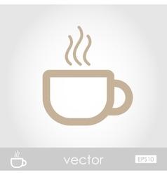 Cap of Tea or Coffee vector image