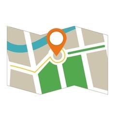 GPS icon Map design graphic vector