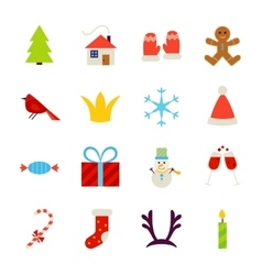 New Year Objects vector image