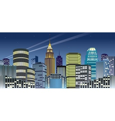 Nght city vector