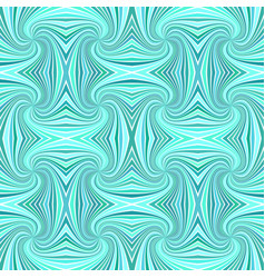 turquoise seamless abstract hypnotic spiral ray vector image