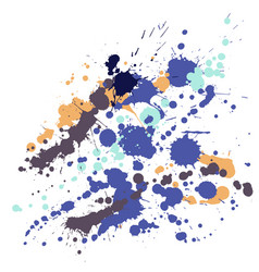 watercolor stains grunge background vector image