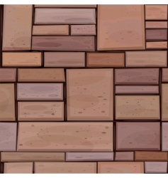 brown wall vector image vector image
