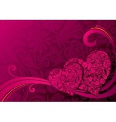 Valentines Background vector image