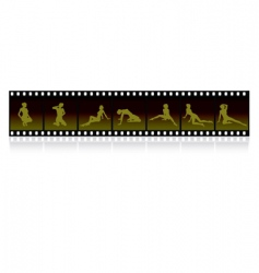 film strip images vector image
