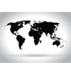 halftone map vector image vector image