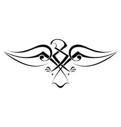 Tattoo eagle vector