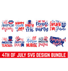 4th july svg united stated independence day cu vector