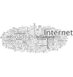 Aboard the broadband wagon vector