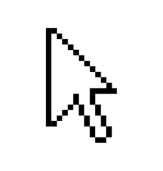 Arrow cursor icon image vector