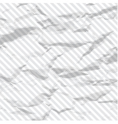 background of crumpled line vector image