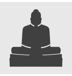 Buddha icon vector image