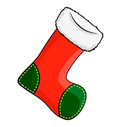 Christmas stocking sock symbol icon design vector