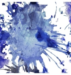 dirty watercolor grunge background for design vector image