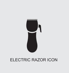 Electric razor icon vector