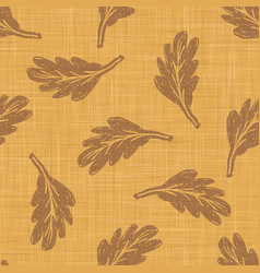 Gold french linen texture background printed with vector