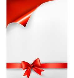 Holiday red background vector