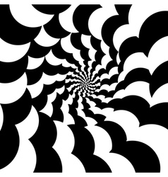 optical effect vector image