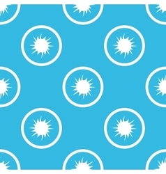 Starburst sign blue pattern vector