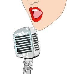 Tonight we sing vector